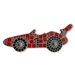 Mozaiekpakket Raceauto