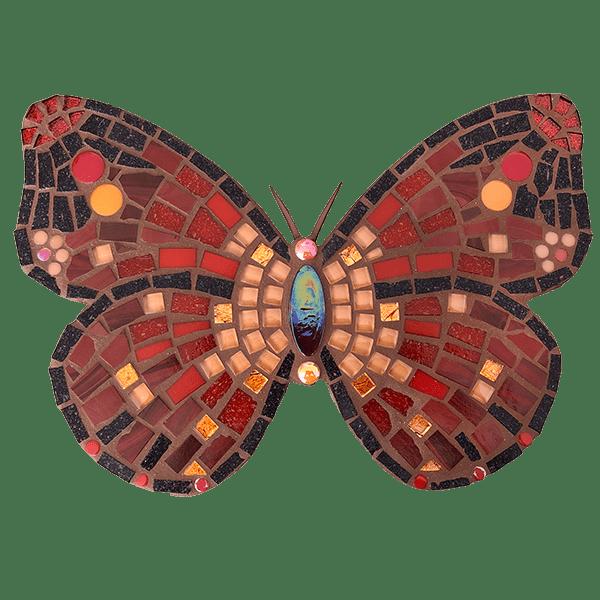 Mozaiekpakket Vlinder Ruby