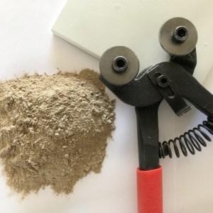 Voegmiddel en gereedschap