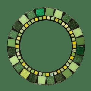 Ring 19cm groen suncatcher