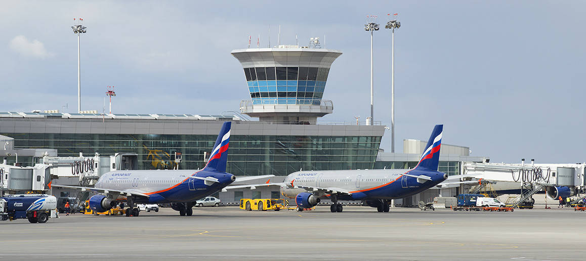 moscow s international airports