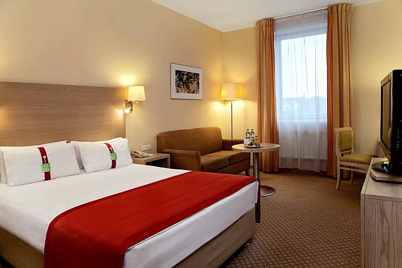 Double Non Smoking Rooms At The Holiday Inn Moscow Lesnaya