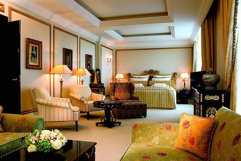 Sumptuous Ritz Carlton Suite At The Ritz Carlton Moscow Hotel
