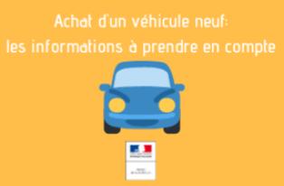 Achat d'un véhicule neuf: les informations à prendre en compte
