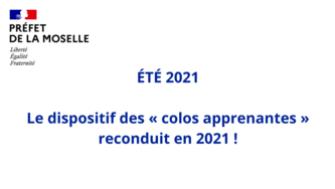 Le dispositif des «colos apprenantes» est reconduit en 2021!