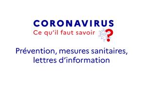 prevention mesures sanitaires lettres