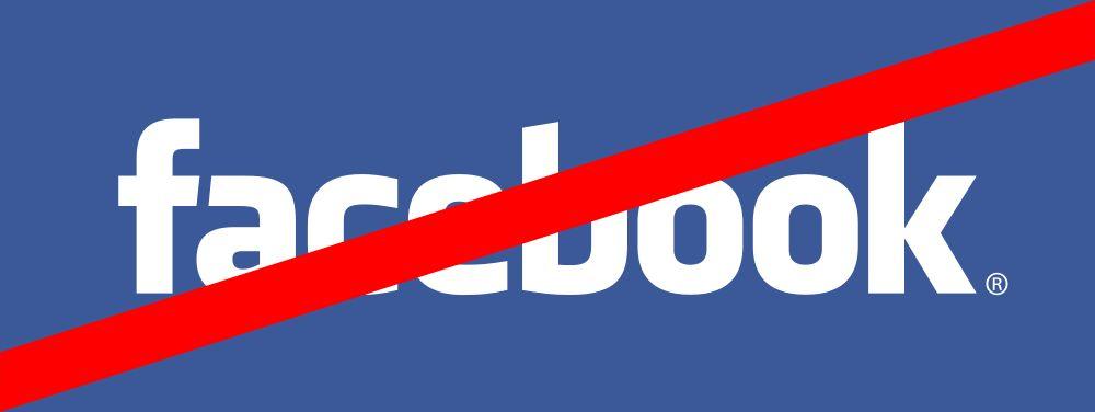 Bye-bye Facebook