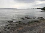 Rainclouds over Oslo Fjord