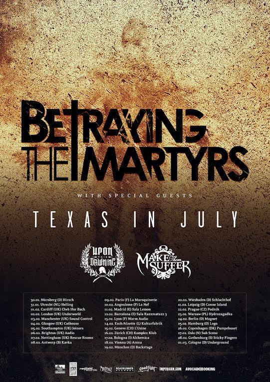 Betraying the Martyrs announce British tour – The Moshville