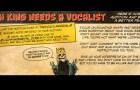 Lich King seek new vocalist