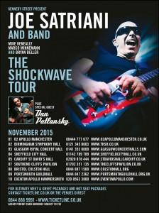 Joe Satriani UK Tour 2015