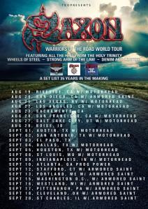 Armored Saints Tour with Saxon