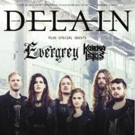 Delain UK 2016
