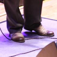 Eric Bibb: Shoes - Photo credit David Muir CC BY-SA-NC