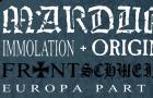 Marduk / Immolation / Origin / Bio-Cancer – G2, Glasgow (10th May 2016)