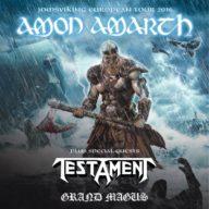 Amon Amarth 2016 tour
