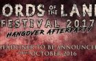 "Lords of the Land ""Hangover Party"" bands announced"