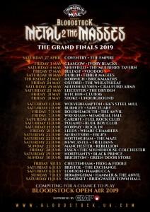 Bloodstock announces another 6 bands, prepares M2TM finals