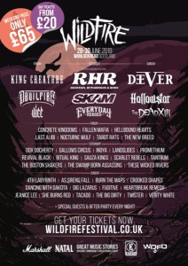 Wildfire announces final bands for 2019