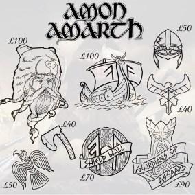 Amon Amarth tattoos 2