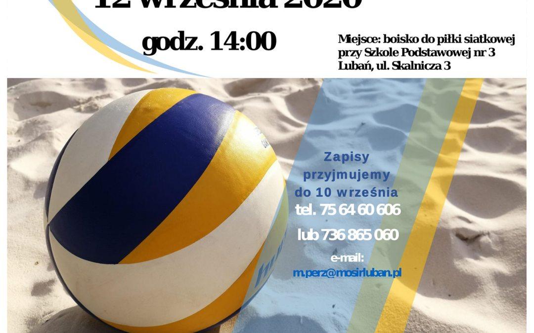 Otwarty Turniej Plażowej Piłki Siatkowej o Puchar Burmistrza Miasta Lubań