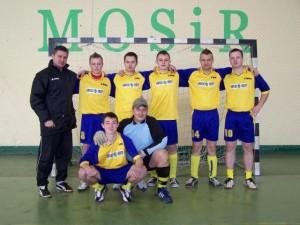 Halowy turniej w piłce nożnej Seniorów