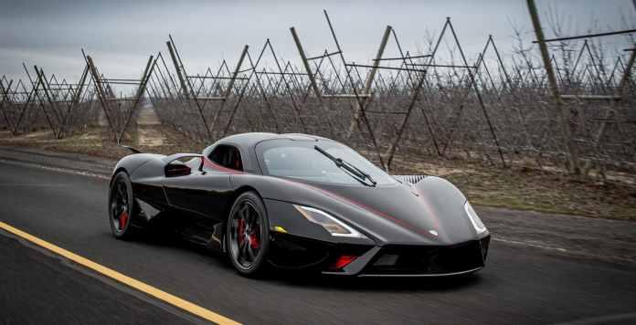 شركة أمريكية تطلق أسرع سيارة في العالم