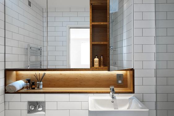 Bathroom Cabinets  Moso Bamboo Surfaces