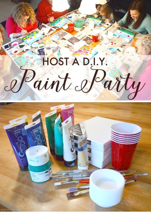 Canvas Painting Parties Ideas
