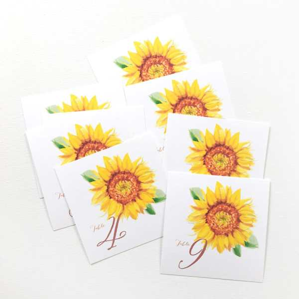 watercolor sunflower rustic country