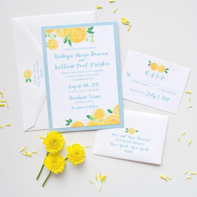 Yellow Rose Blooms Fl Wedding