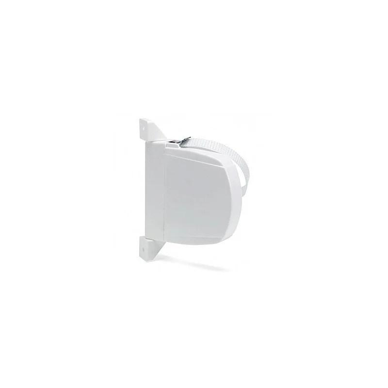 Recogedor abatible blanco cinta 18 mm