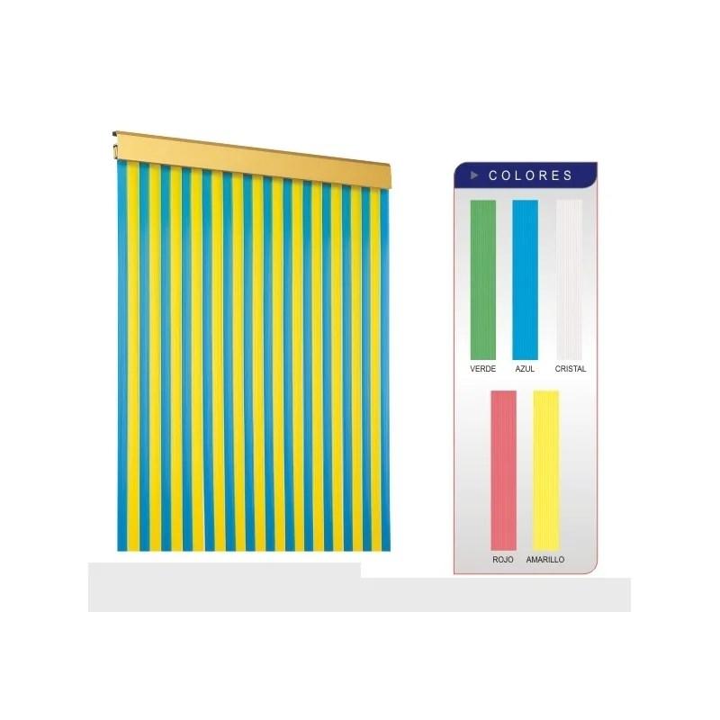 Cortina PVC cinta Antimoscas para Puertas de Exterior