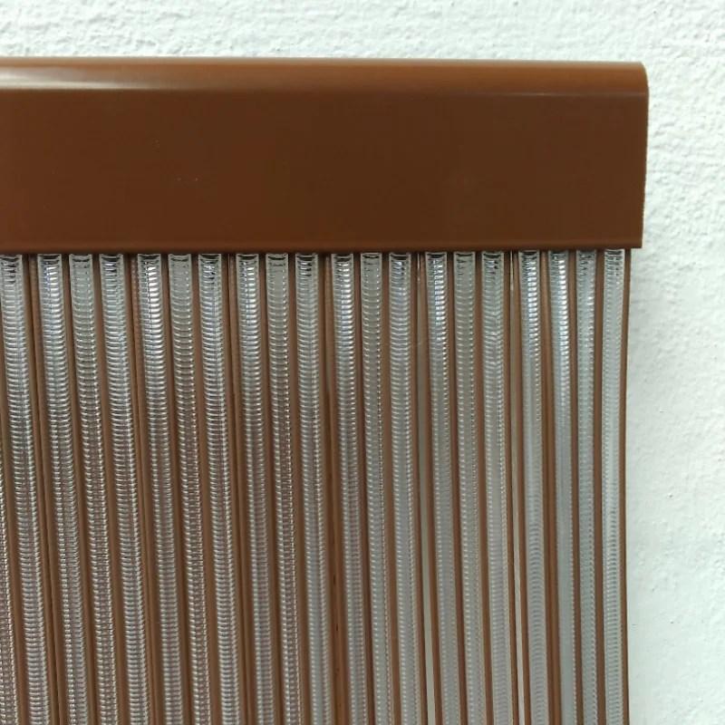 Cortina exterior para puertas tiras de plastico recortable