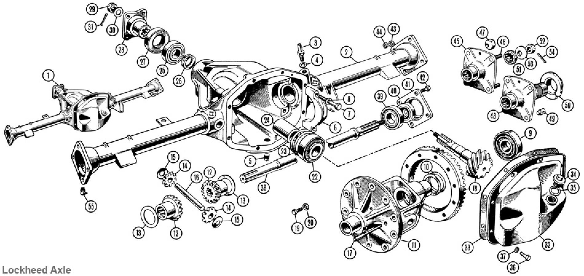 Rear Axle Lockheed