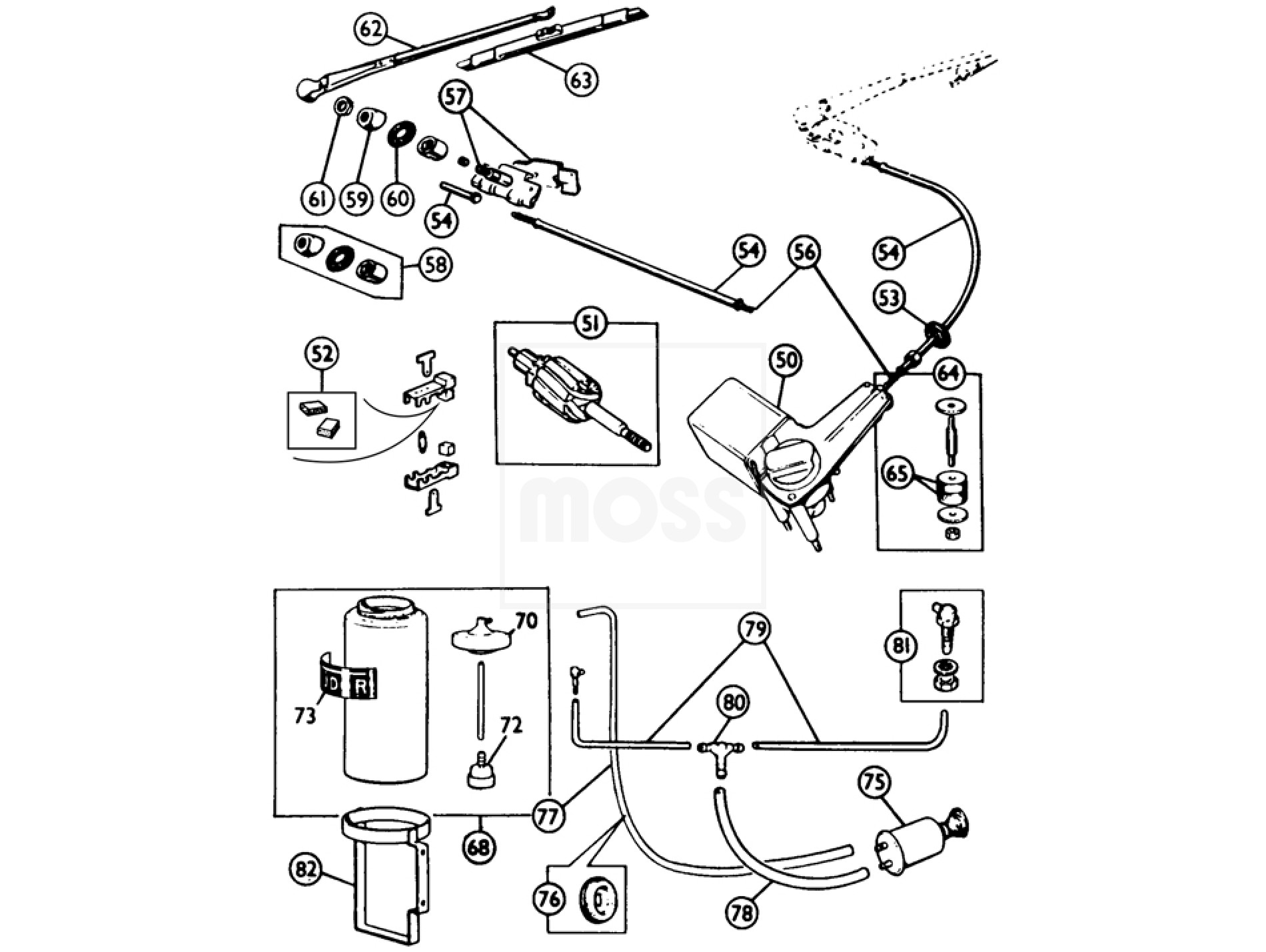 Windscreen washer system