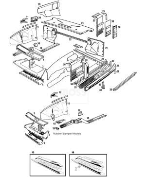 Body Panels: Front Inner  MGB