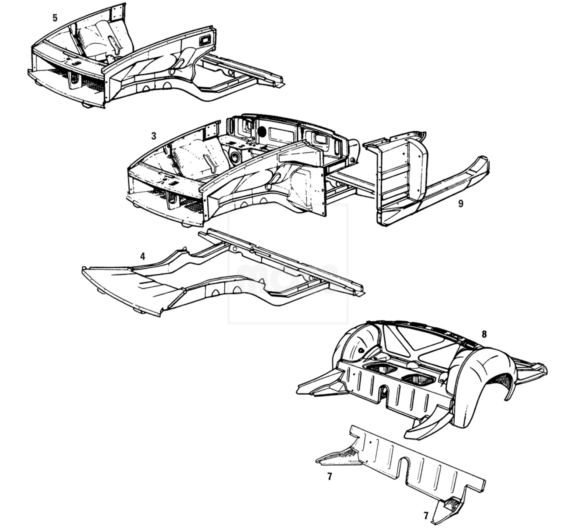 Mgb Front Chassis Assy Mgb Amp Gt Forum Mg Experience