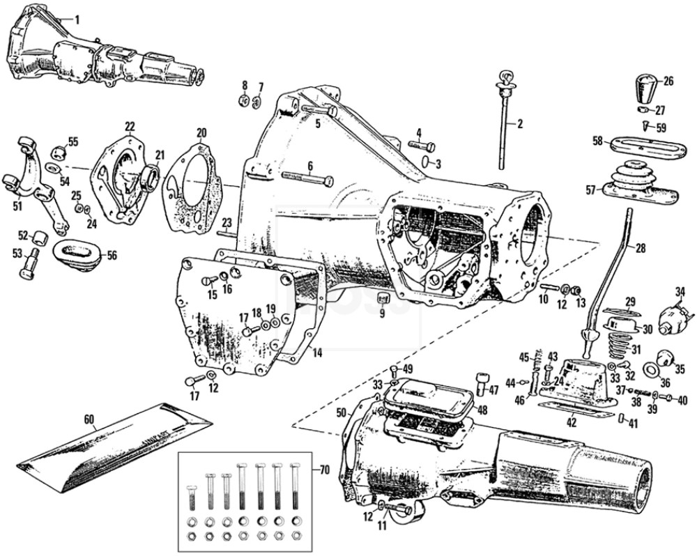 medium resolution of mgb transmission diagram wiring diagram used mgb transmission diagram guide about wiring diagram gearbox vent mgb