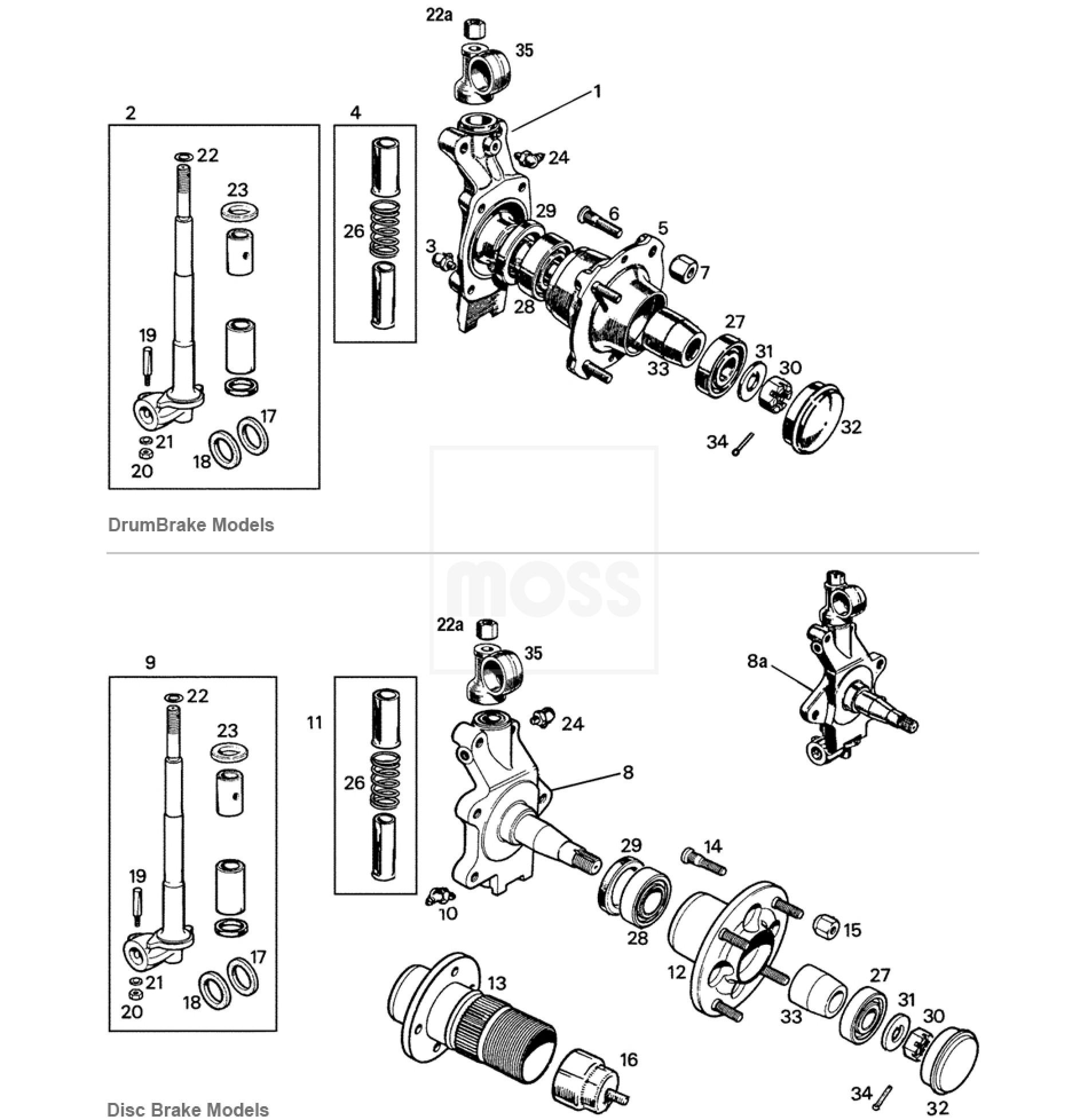 classic mini front suspension diagram e46 m3 abs wiring mg midget fuse box