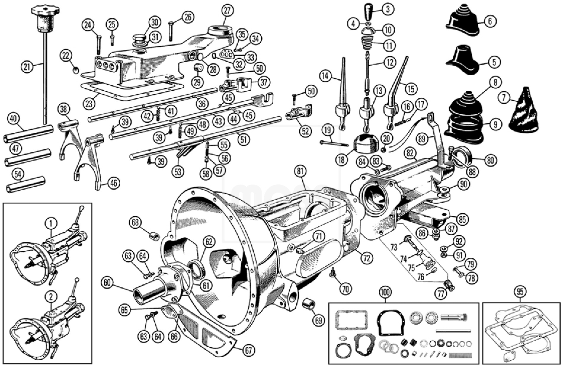 Parts For Mg Midget