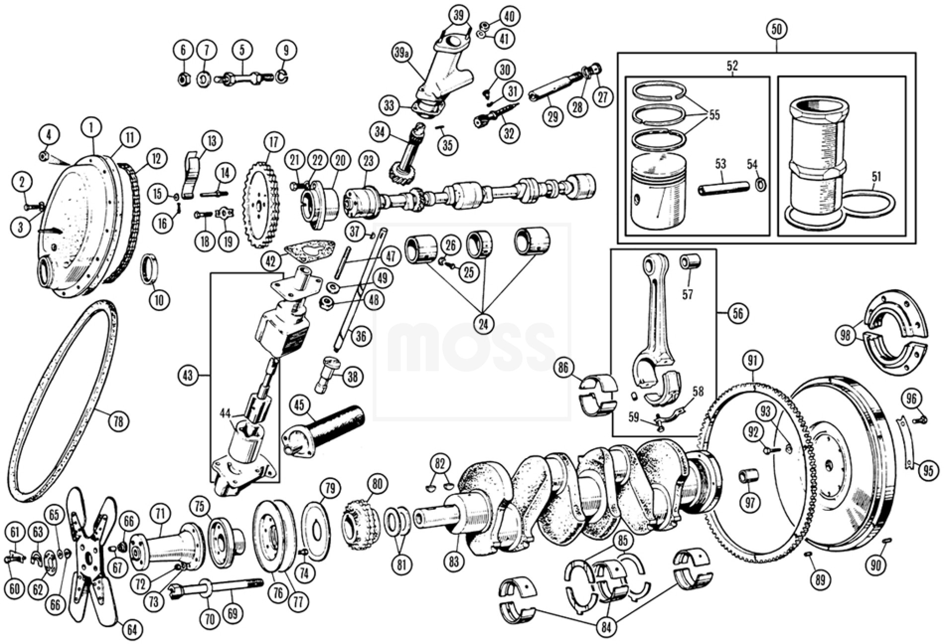 Internal Engine Components
