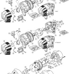 alternators u0026 fittings lucas 16acr 17acr 18acr ac delco tr5 6lucas alternator [ 1900 x 2740 Pixel ]