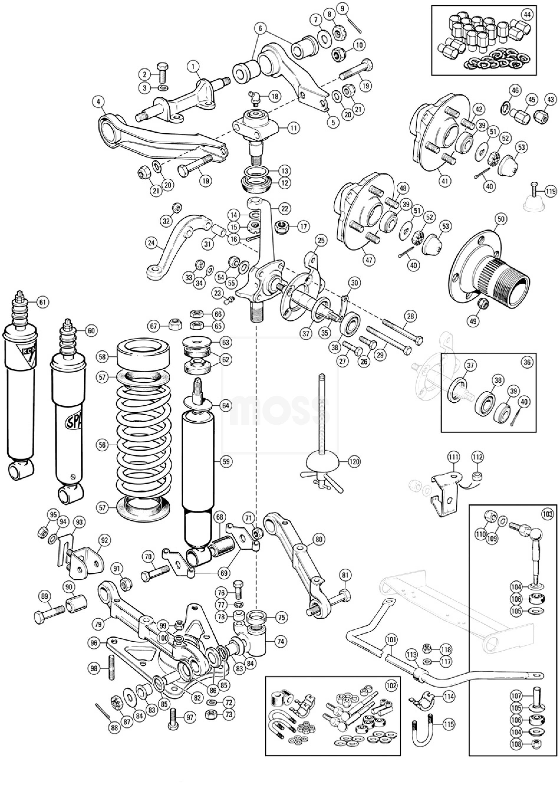 Jaguar 420 Front Suspension Noise 100808. Jaguar. Auto