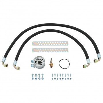 Oil Cooler Installation Kit & Spin-On Filter, non