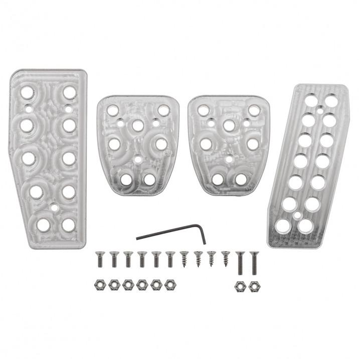 Pedal Set, manual, aluminium