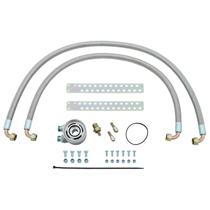 Oil Cooler Installation Kit & Spin-On Filter, non