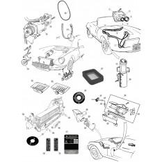 Jaguar E-Type Heating Ventilation Parts & Accessories