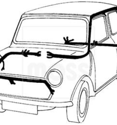 classic mini wiring diagram [ 1900 x 682 Pixel ]