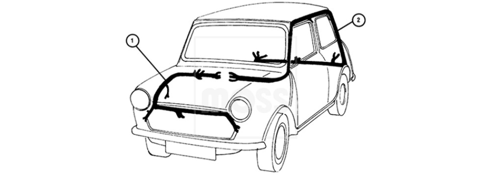 medium resolution of classic mini wiring diagram